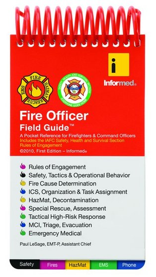 Fire Officer Field Guide All Clear Fire Training And